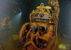 獨特的太平洋水下墓(mu)地